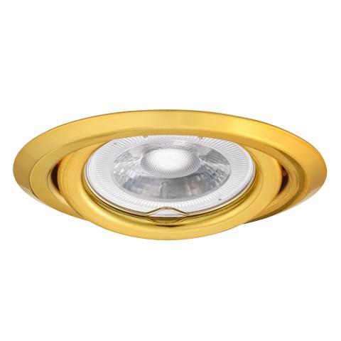 Светильник точечный ARGUS CT-2115-G, Gx5.3, IP20, золотой, Kanlux 304