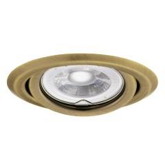 Светильник точечный ARGUS CT-2115-BR/M, Gx5.3, IP20, латунь матовая, Kanlux 330