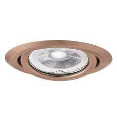 Светильник точечный ARGUS CT-2115-AN, Gx5.3, IP20, медь, Kanlux 333