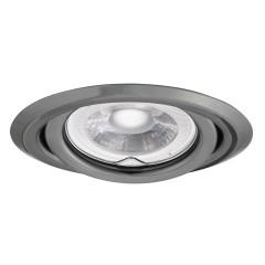 Светильник точечный ARGUS CT-2115-GM, Gx5.3, IP20, графит, Kanlux 334