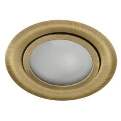 Мебельный светильник GAVI CT-2116B-BR/M, G4, IP20, латунь матовый, Kanlux 814