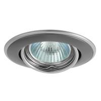 Светильник точечный HORN CTC-3115-GM/N, Gx5.3, IP20, графитовый/никель, Kanlux 2834