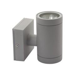 Светильник настенный BART EL-135, GU10, IP54, серый, Kanlux 07079