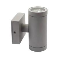 Светильник настенный BART EL-235, 2xGU10, IP54, серый, Kanlux 07080