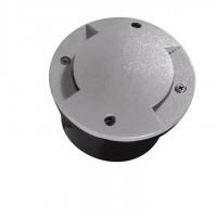 Светильник грунтовый ROGER DL-2LED6, 1W, 6500K, серый, Kanlux 07281