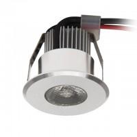 Светильник точечный HAXA-DSO POWER LED-B, 1W, 3000K, IP20, алюминий, Kanlux 8103
