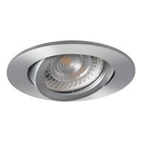 Светильник точечный EVIT CT-DTO50-AL, Gx5.3, IP20, алюминий, Kanlux 18561