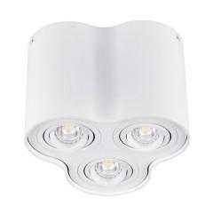 Светильник точечный BORD DLP-350-W, 3xGU10, IP20, белый матовый, Kanlux 25800
