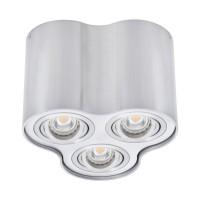 Светильник точечный BORD DLP-350-AL, 3xGU10, IP20, алюминий, Kanlux 25802