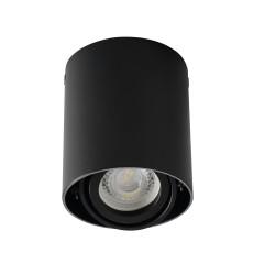 Светильник точечный TOLEO DTO 50-B, GU10, IP20, черный матовый, Kanlux 26110
