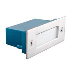 Светильник настенный TAXI SMD P C/M-WW, 0.6W, 10lm, 3000K, IP54, хром, Kanlux 26462