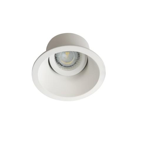 Светильник точечный APRILA DTO-W, Gx5.3/GU10, IP20, белый матовый, Kanlux 26738