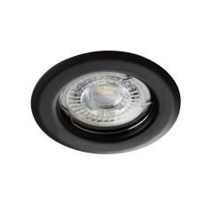 Светильник точечный ALOR DSO-B, Gx5.3/GU10, IP20, черный, Kanlux 26791