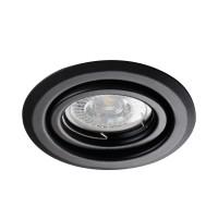 Светильник точечный ALOR DTO-B, Gx5.3/GU10, IP20, черный, Kanlux 26796