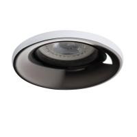 Светильник точечный ELNIS S W/A, Gx5.3/GU10, IP20, белый/антрацит, Kanlux 27801