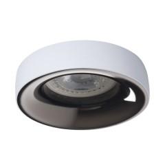 Светильник точечный ELNIS L W/A, Gx5.3/GU10, IP20, белый/антрацит, Kanlux 27805