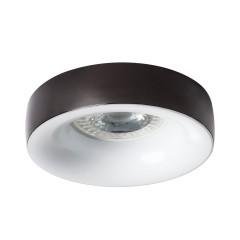 Светильник точечный ELNIS L A/W, Gx5.3/GU10, IP20, антрацит/белый, Kanlux 27807