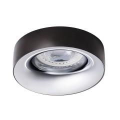 Светильник точечный ELNIS L A/C, Gx5.3/GU10, IP20, антрацит/хром, Kanlux 27808