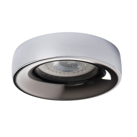 Светильник точечный ELNIS L C/A, Gx5.3/GU10, IP20, хром/антрацит, Kanlux 27812