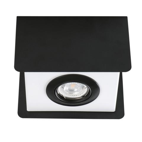 Светильник точечный TORIM DLP-50 B-W, GU10, IP20, черный/белый, Kanlux 28461