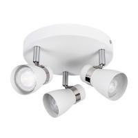 Светильник спот ENALI EL-3O-W, 3xGU10, IP20, белый, Kanlux 28764