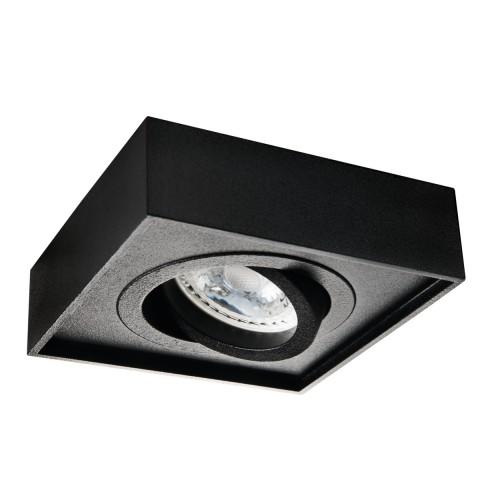 Светильник MINI GORD DLP 50-B, Gx5.3/GU10, черный, Kanlux 28781