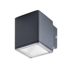 Светильник настенный GORI EL 135 D, GU10, IP44, антрацит, Kanlux 29000