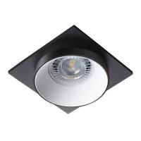 Светильник точечный SIMEN DSL B/W/B, Gx5.3/GU10, IP20, черный/белый/черный, Kanlux 29131