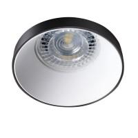 Светильник точечный SIMEN DSO B/W, Gx5.3/GU10, IP20, черный/белый, Kanlux 29138