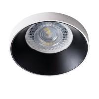 Светильник точечный SIMEN DSO W/B, Gx5.3/GU10, IP20, белый/черный, Kanlux 29139